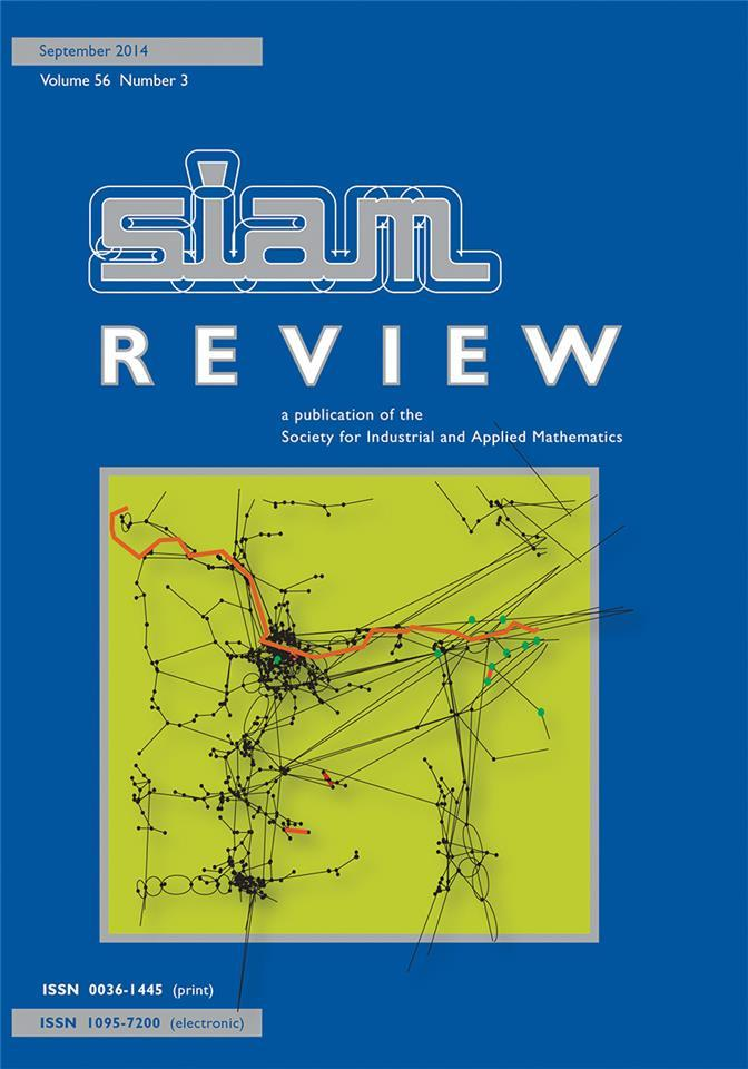 An Invitation from the Research Spotlights Section of <em>SIAM Review</em>