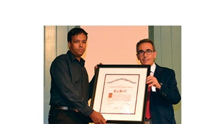 Assyr Abdulle Receives 2013 SIAM Dahlquist Prize