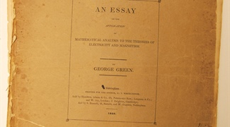 SIAM News Again Links Owners of a Copy of Green's 1828 Essay