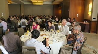 Snapshots from the SIAM Annual Meeting