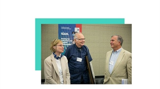 Donald E. Knuth Awarded SIAM's Highest Honor, Delivers the John von Neumann Lecture