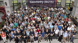 SIAM Conference on Applied Algebraic Geometry (AG15)