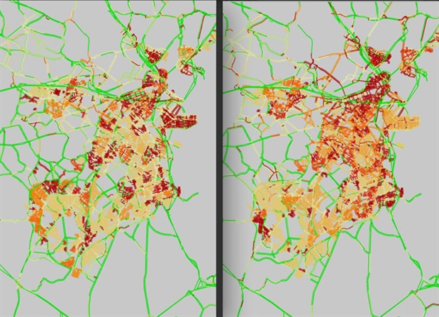 Traffic Map Boston.A School Bus Trip To The Crossroads Of Policy And Optimization
